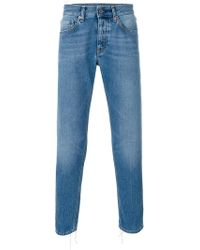 Pence - Stonewashed Slim-fit Jeans - Lyst
