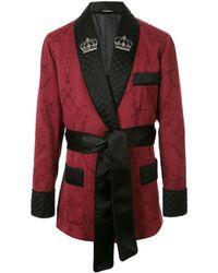 Dolce & Gabbana - ジャカードニットジャケット - Lyst