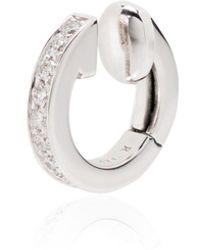 Repossi Berbere ダイヤモンド イヤーカフ 18kホワイトゴールド - メタリック