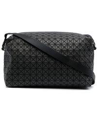 Bao Bao Issey Miyake Bolso de hombro con paneles geométricos - Negro