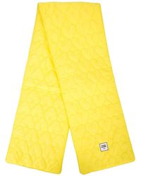 Opening Ceremony Logo Patch Quilted Scarf - Yellow