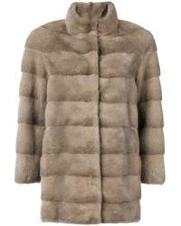 Cara Mila Mila Classic Coat - Gray