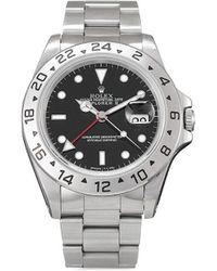 Rolex Наручные Часы Explorer Ii Pre-owned 40 Мм 1997-го Года - Черный