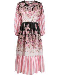 Liberty Octavie Hilary ラップドレス - ピンク
