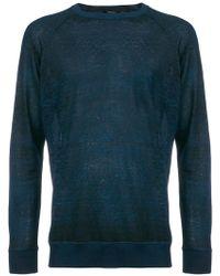 Avant Toi - Sheer Fine Knit Jumper - Lyst