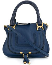 Chloé Marcie ハンドバッグ - ブルー