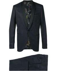 Etro シングルジャケット - ブルー