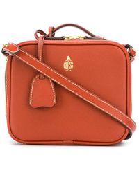 Mark Cross Madison Mini Cross-body Bag - Orange