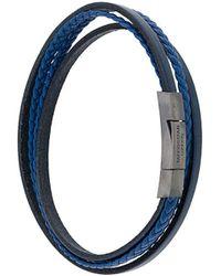 Tateossian Fettuccini Bracelet - Blue