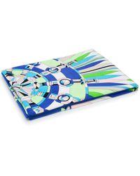 Emilio Pucci Bes Print Beach Towel - Green