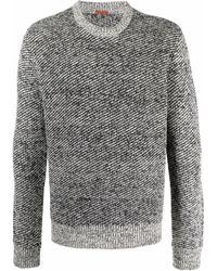 Barena バイカラーセーター - ブラック