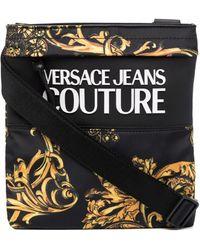 Versace Jeans Couture Сумка-мессенджер С Принтом Baroque - Черный