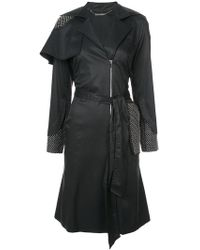 Thomas Wylde - Belted Trench Coat - Lyst