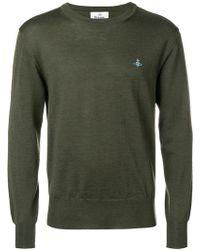 Vivienne Westwood - Crew Neck Sweater - Lyst