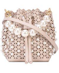 Zac Zac Posen Lacey Crossbody Bag - Pink