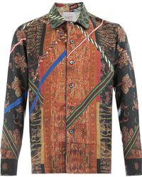 Pierre Louis Mascia - Print Shirt - Lyst