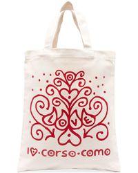 10 Corso Como Сумка-тоут С Принтом Love - Многоцветный