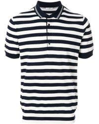 Paolo Pecora | Striped Polo Shirt | Lyst