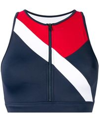 7b5d28fce Lyst - Women s Tommy Hilfiger Sleeveless and tank tops On Sale