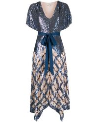 Temperley London - Midi-jurk Met Pailletten - Lyst