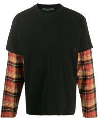 1017 ALYX 9SM レイヤード ロングtシャツ - ブラック