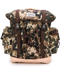 Eastpak X A.p.c Camouflage Backpack - Brown