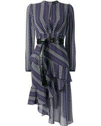 Three Floor Folktale ドレス - ブルー