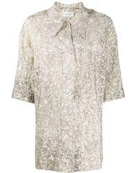 Lemaire オーバーサイズ シャツ - マルチカラー