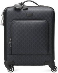 Gucci GG Supreme Suitcase - Black