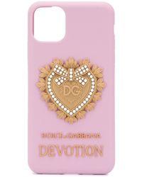 Dolce & Gabbana Iphone 11 Pro Hoesje - Roze