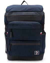Tommy Hilfiger Rucksack mit drei Fächern - Blau
