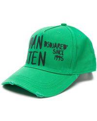 DSquared² - Printed Baseball Cap - Lyst