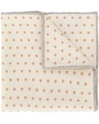 Eleventy - Dotted Pattern Scarf - Lyst