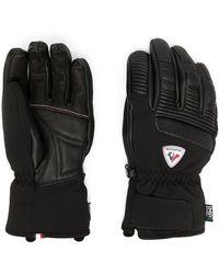 Rossignol Перчатки С Нашивкой-логотипом - Черный