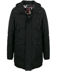 Moose Knuckles フーデッド パデッドコート - ブラック