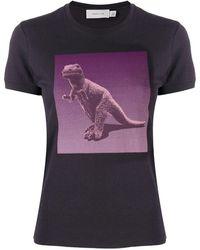COACH T-Shirt mit Rexy-Motiv von Sui Jianguo - Lila