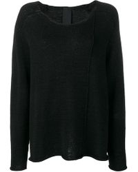 Rundholz Black Label - Knitted Large Pullover - Lyst