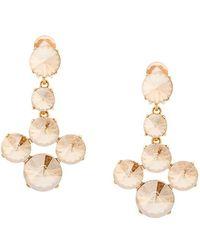 Oscar de la Renta - Rivoli Stone Earrings - Lyst