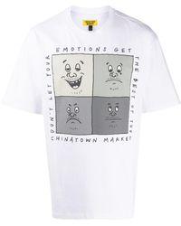 Chinatown Market Emotions Tシャツ - ホワイト