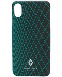 Marcelo Burlon Iphone Xs Max Case - Black