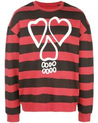 Haculla Unbalanced Sweatshirt - Red