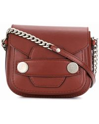 Stella Mccartney Stella Popper Small Shoulder Bag in Red - Lyst ad4d8c65e1
