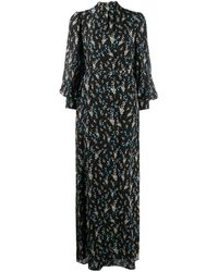 Erdem - Robe longue à fleurs - Lyst