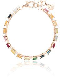 SHAY - Rainbow Tennis ブレスレット 18kゴールド - Lyst