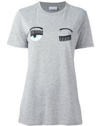 Chiara Ferragni - Flirting Long T-shirt - Lyst