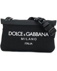 Dolce & Gabbana 'Palermo Tecnico' Gürteltasche - Schwarz
