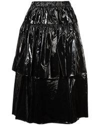 Sara Lanzi - Lurex Tiered Skirt - Lyst