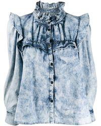 Étoile Isabel Marant Denim Shirt - Blauw