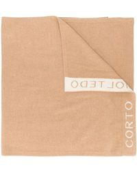Corto Moltedo - ロゴ スカーフ - Lyst