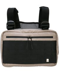 b6dcbb579df6 Lyst - Sophie Hulme Wilson Mini Leather Backpack in Black
